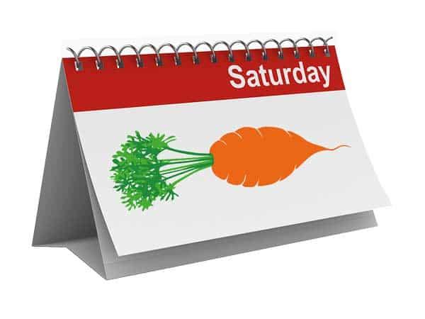 Fat Carrot calendar